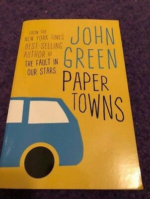 paper towns by john green,paperback