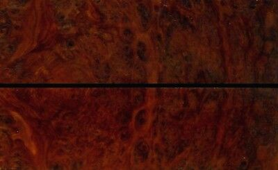Marbled Australian Coolabah Burl Wood Knife Scales (Bookmatched)