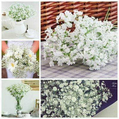 Breath White Artificial Home Decorations Wedding Hotel Party Plastic Flowers