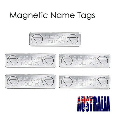 Strong Magnetic Name Badge Tag Attachment Fastener ID Holder Card Magnet  5X
