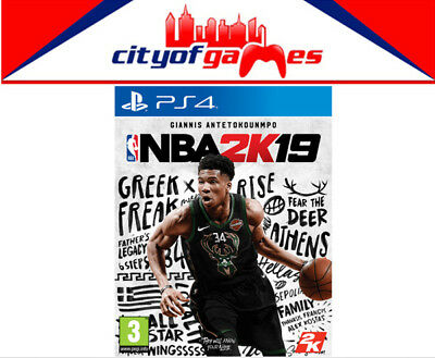 NBA 2K19 PS4 Game Brand New & Sealed In Stock