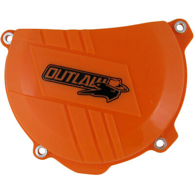 Outlaw Racing KTM450 500 Orange Replacement Dirt Bike Clutch Cover Protector