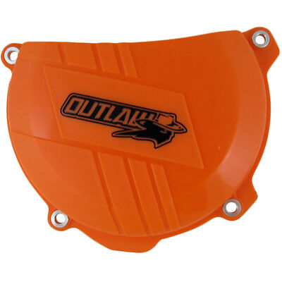 Outlaw Racing KTM 250 350EXC SXF Orange Dirt Bike Clutch Cover Protector