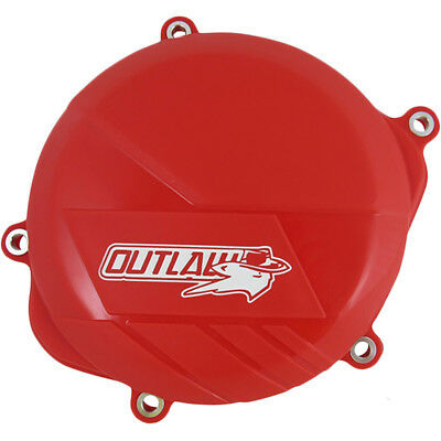 Outlaw Racing Honda CRF450R 2009-2016 Red Dirt Bike Clutch Cover Protector