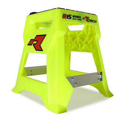 Racetech NEW Mx R15 Neon Yellow Suzuki Worx Motocross Dirt Bike Motorcycle Stand