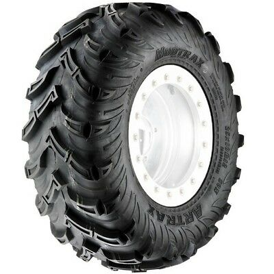 Artrax NEW 1307R Mud Trax 25x10-12 Quad Bike Offroad Radial 6 Ply ATV Rear Tyre