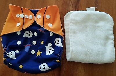 Halloween Special Reusable Cloth Nappy Adjustable Newborn To Toddler