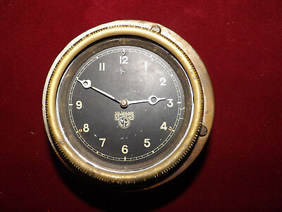 Antique Smiths Car Clock