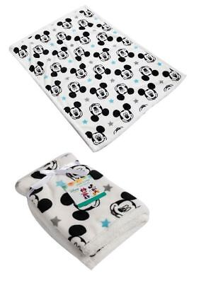 Disney Mickey Mouse Baby Boys Newborn Soft Fleece Blanket 75x100cm