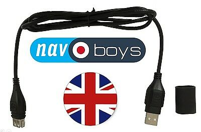 Optimate USB to USB Extension Lead from Optimate USB Charger to SatNav or Phone