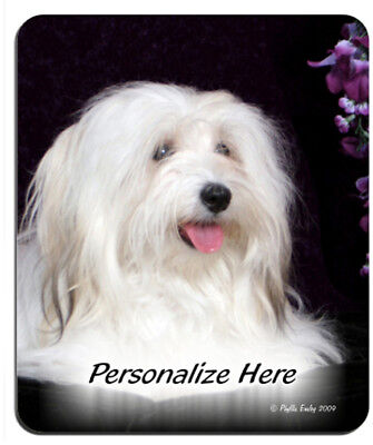Havanese   blond     Personalized Mouse Pad