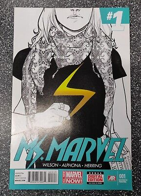 Ms Marvel #1 (2015) Kamala Khan 7th Print