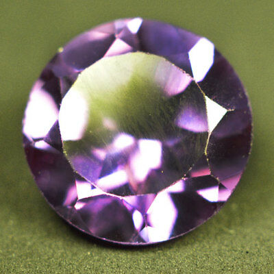 4.25ct.AWESOME RUSSIAN COLOR CHANGE ALEXANDRITE ROUND GEMSTONE