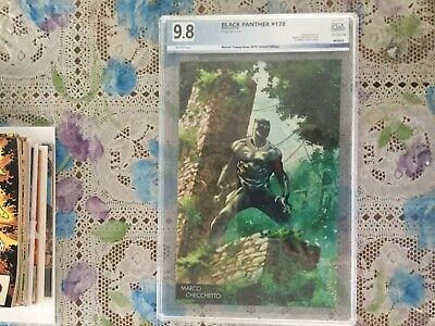 Rise Of The Black Panther # 170 Young Guns Variant Cover Pgx  9.8