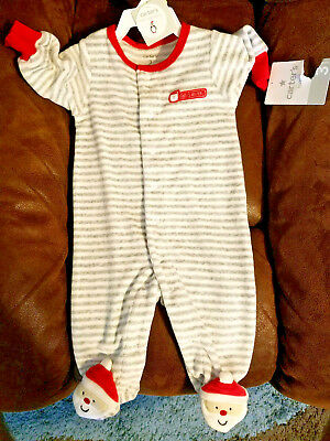 42b31ad14284 CARTERS SANTA'S HELPER Outfit Baby Newborn One Piece - Size 3 MONTHS Brand  New!