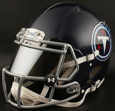 e77fd8d94    CUSTOM    TENNESSEE TITANS Full Size NFL Riddell SPEED Football Helmet