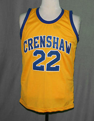 cc821a03b09 LOVE and BASKETBALL MOVIE JERSEY QUINCY McCALL CRENSHAW HIGH OMAR EPPS ANY  SIZE