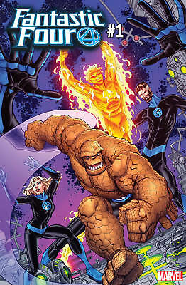 Fantastic Four #1 Bradshaw Variant Thing (2018) Marvel Comics Nm