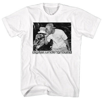 6f85e54be Digital Underground & Tupac Shakur Mens T Shirt Rapping Live Stage Hip-Hop  Merch