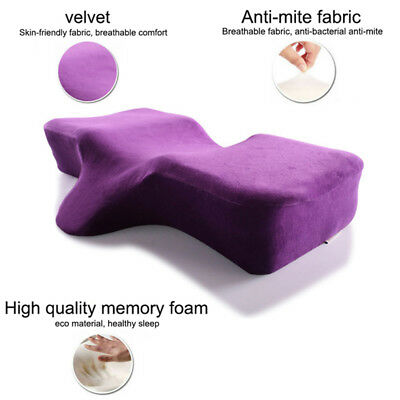 High Quality MEMORY FOAM Ergonomic Extension NECK SUPPORT Curved Sleeping PILLOW