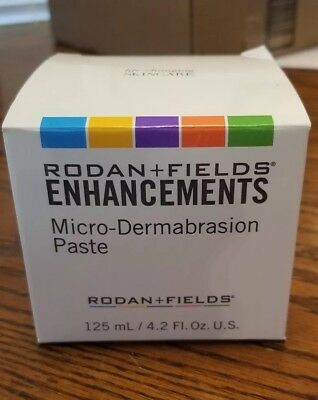 Rodan and Fields Enhancements Micro-dermabrasion Paste LARGE 4.2 oz SEALED! New