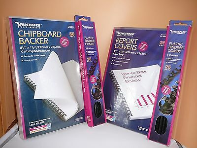 Presentation Report Binding Supplies - FREE SHIPPING