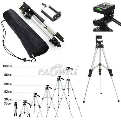 "Professional Camera Tripod Stand Holder 1/4"" Ball Head +Bag for DSLR Canon Nikon"