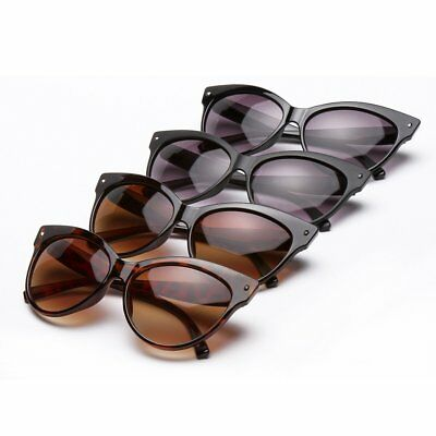 Women Sexy Clear Lens Cat Eye Glasses Frame Luxury Summer UV Protect Sunglasses