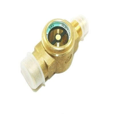 Refrigeration Brass 3/8''M To 3/8''F Sight Glass - Italian Made - Flare - Rf365A