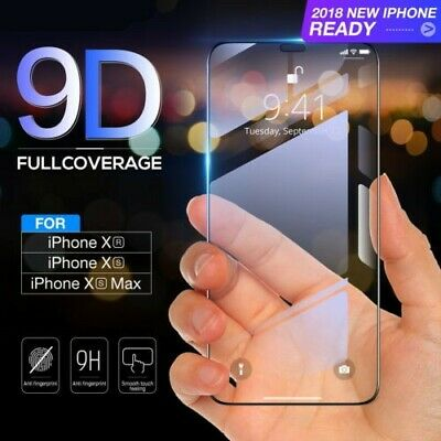 1/2x Samsung Galaxy Note 9 3D Tempered Glass Full Coverage Screen Protector LOT