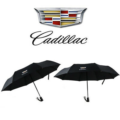 Premium Quality Cadillac Umbrella Folding Automatic Genuine Designer Brolly