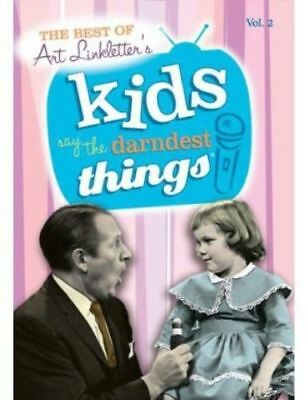 The Best of Art Linkletter's Kids Say the Darndest Things VOLUME 2 DVD
