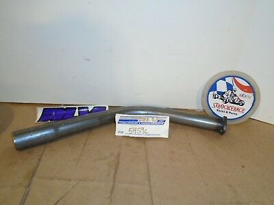 Racing Go Kart Nos Rlv 5459C Briggs Curved Exhaust Pipe Flat Head Vintage Cart