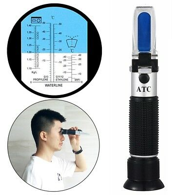 ATC Glycol Antifreeze/Battery Fluid Refractometer Tester Home Beer Making