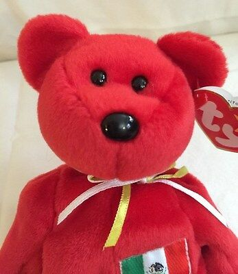 """Authentic Ty Beanie Baby~""""Osito""""~RARE~w/Tags~1999~P.E. Pellets~Quality!!!!"""
