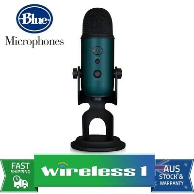 Brand New Blue Microphones Yeti 3-Capsule USB Microphone - Teal