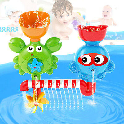 Baby Kids Toddler Bath Toy Children Water Spout Playing Water Fun Beach Toy Gift
