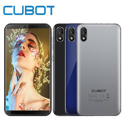 Cubot J3 5.0'' Android 3G Smartphone Quad-Core 1GB+16GB FaceID Mobile Phone 2SIM