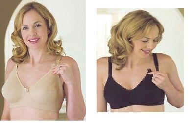 037df63b43a Nct Black Or Nude Maternity Nursing Clip Cotton Rich Stretch Bra Size 40 E  F G