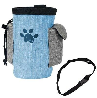 Pet Food Snack Feed Pouch Dog Puppy Obedience Training Treat Belt Bags Bait