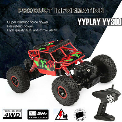 WLtoys A959-B,2.4G 1/18 Scale Car,4WD 70KM/h Electric RTR Off-road Buggy RC Car