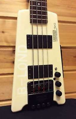 HOHNER B2A Contrabass BASS 1980s LICENSED STEINBERGER SOUND w/soft case USED F/S