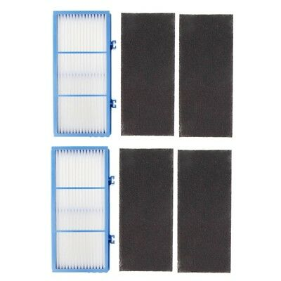 2 HEPA Filter and 4 Carbon Booster Filters for AER1 Holmes Type Total Air Filte