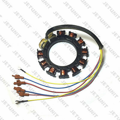 outboard 9 amp Stator FOR Mercury 30-85hp 9 Amp 3&4 cylinder 398-5454 A21
