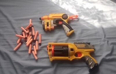 Nerf Gun Bundle With Extra Darts *Very Good Condition* RRP:£20+