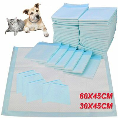 Large Puppy Training Trainer Train Pads Dog Cat Toilet Pee Wee Mat 60X45 & 33X45