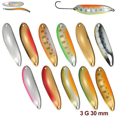 Smith D-S Line 3.0 g 30 mm Native trout spoon various colors