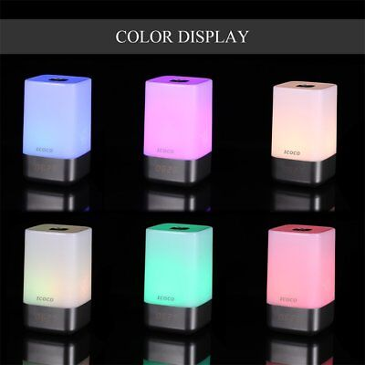 LED Light Bedside Table Lamp Touch Sensor Desk Dimmable Color Control NEW
