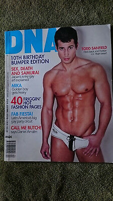 DNA number 121 -10th birtday bumper edition - gay interest