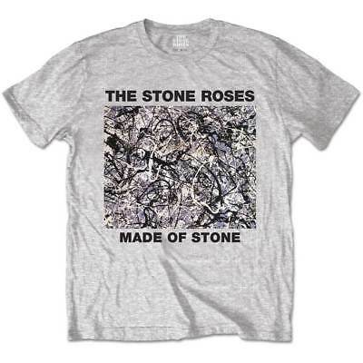 Stone Roses Made Of Stone Unisex Official Tee Shirt Brand New Various Sizes
